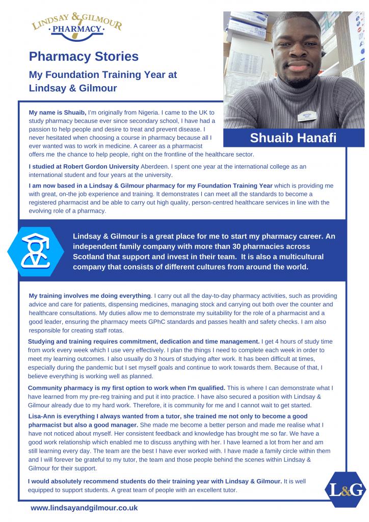 Lg Shuaib Hanafi Case Study